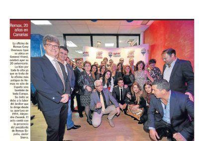 Canarias 7. REMAX, 20 años en Canarias
