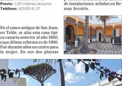 El País. Tradición canaria con 10 dormitorios