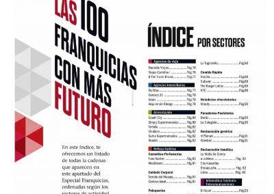 Emprendedores. Índice de las 500 mejores franquicias de España
