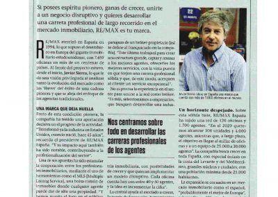 Emprendedores. Javier Sierra. Hemos profesionalizado el sector