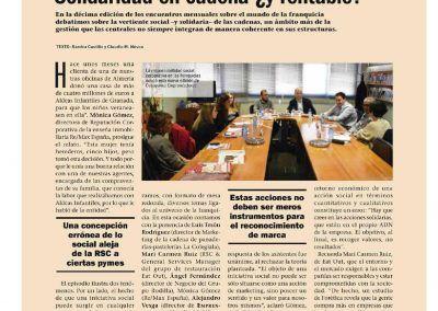 Emprendedores. Solidaridad en cadena 1. Edición impresa