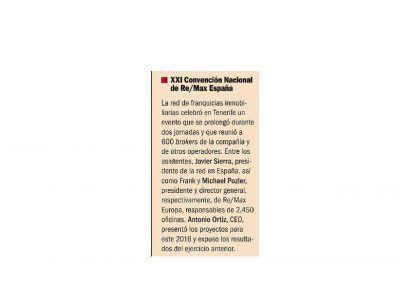 Emprendedores. XXI Convención Nacional REMAX España