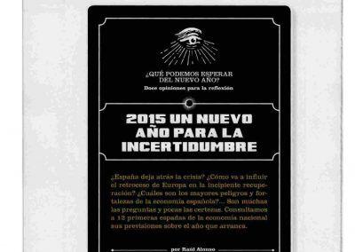 Forbes. Análisi del 2015 por 12 de los empresarios más importantes de España