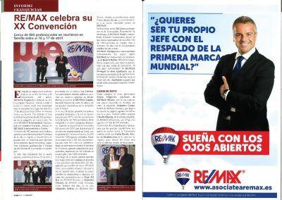 Metros 2. REMAX celebra su XX Convención