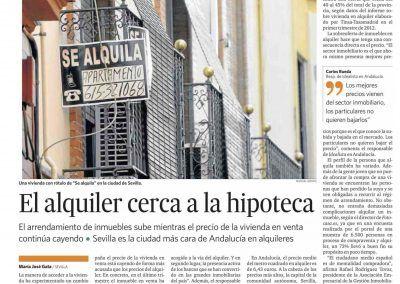 Rafael Rodriguez en el Diario de Cádiz