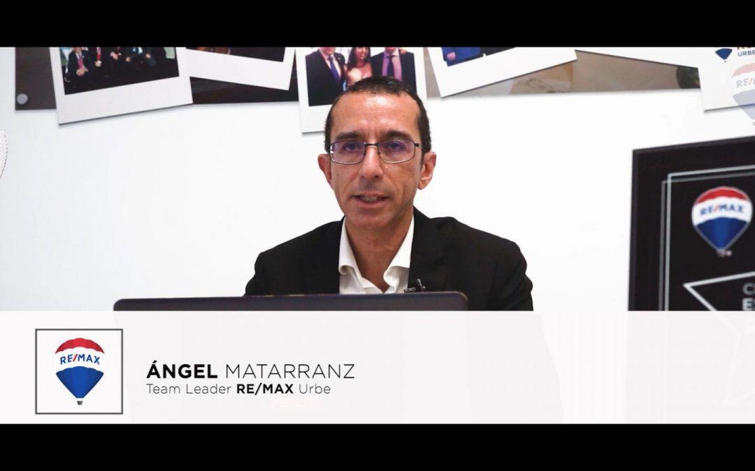 """Ángel Matarranaz """"El nivel de compromiso que hay entre agentes y agencias REMAX es incomparable"""""""