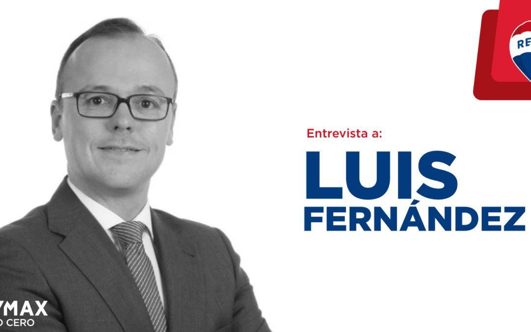 Luis Fernández Pacheco, una fulgurante carrera como agente REMAX de éxito
